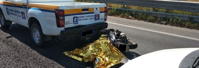 Incidente choc sulla variante 7 bis: muore contro auto protezione civile