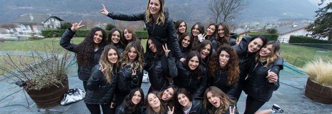 Miss Italia, le finaliste di Miss 365-la Prima Miss dell'anno (foto Daniele La Malfa)