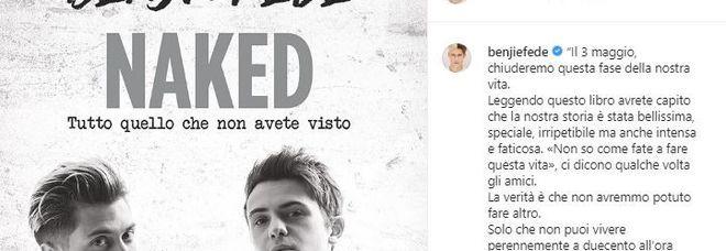 Benji e Fede si separano? L'annuncio sui social: «L'Arena di Verona sarà il nostro ultimo concerto»