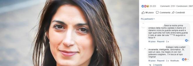Virginia Raggi è il sindaco più social del mondo: quasi un milione di amici su Facebook, 200mila su Instagram