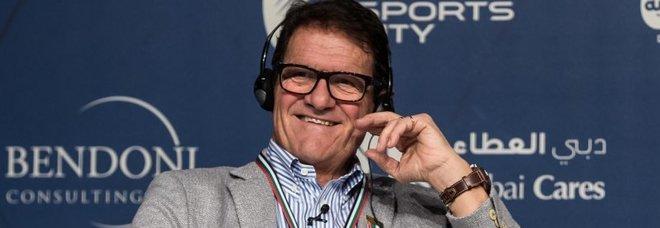 Capello: «Non sono interessato alla panchina dell'Italia»