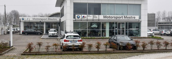 La sede di Mestre della Motorsport, concessionaria Bmw