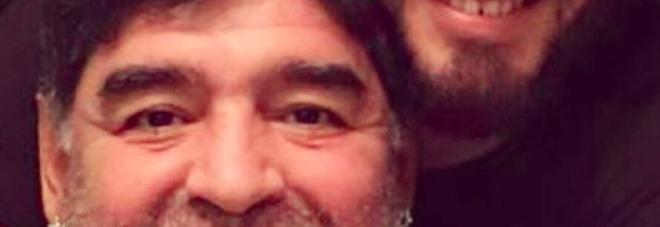 «L'amore vince su tutto», è la prima festa del papà per Maradona Jr.