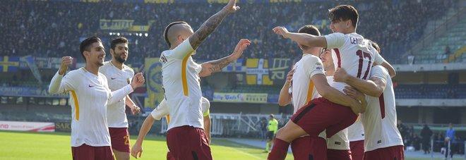 La Roma torna alla vittoria grazie al gol lampo di Under