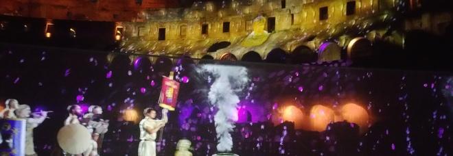 Gladiatori, battaglie navali e ologrammi: il Colosseo si racconta in 3D