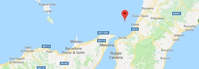 Terremoto di magnitudo 3.4 nel sud Tirreno, paura a Reggio Calabria e Messina