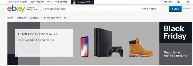 Black Friday 2017, eBay: grandi sconti su iPhone 8, tutte le offerte e le promozioni