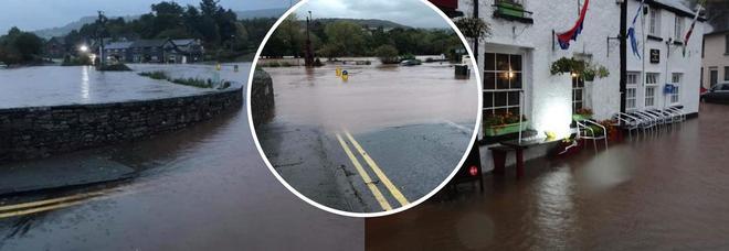 La tempesta Callum sprigiona la sua massima intensità: inondazioni e danni