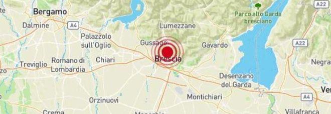 Terremoto a Brescia in pieno centro, paura tra la gente nella notte