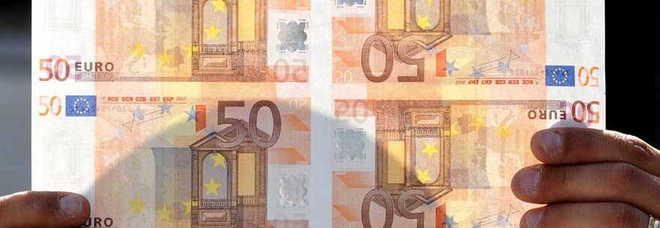 Boom di banconote false in Italia