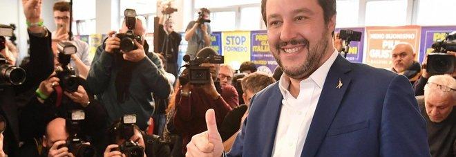 Salvini: «No a strane alleanze, il Centrodestra può governare»
