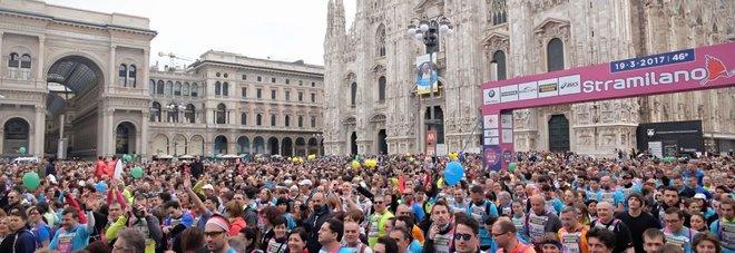 Stramilano, festa per 70 mila: di corsa anche i profughi ospitati in Lombardia
