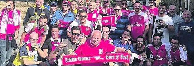 Napoli-Arsenal, il derby del cuore: «Noi napoletani tifosi dei Gunners»