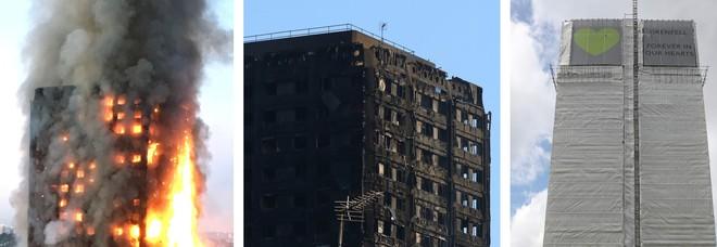 Grenfell Tower, allerta tossine tra i detriti: «Nessuna azione di bonifica svolta»