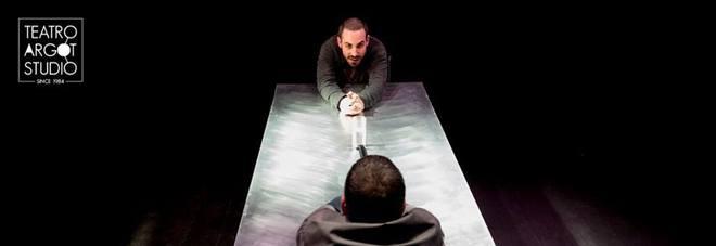 Marco Quaglia e Stefano Patti in Echoes, in scena al teatro Argot -  foto di Manuela Giusto