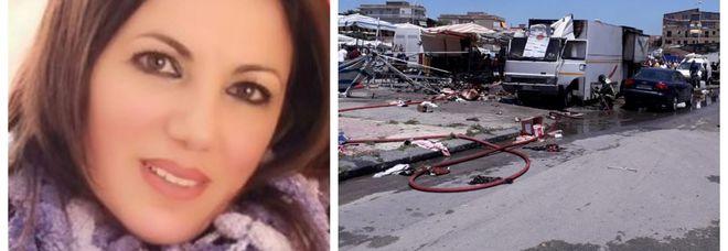 Muore madre di tre figli ferita nell'esplosione al mercato di Gela: altre quattro persone gravissime
