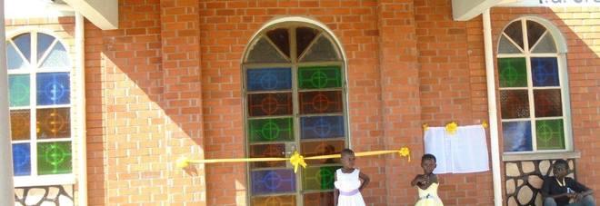 La chiesa inaugurata in Uganda