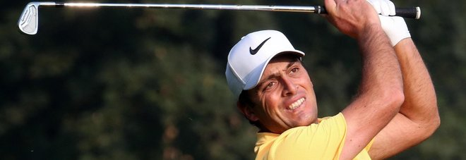 Golf, Open d'Italia: Francesco Molinari in testa dopo il primo giro