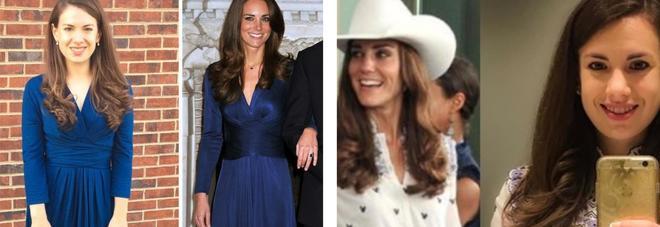 Kate Middleton, la fan 'replicante' copia il suo stile: