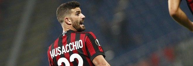 Milan, Musacchio: «Contro l'Inter saremo undici leoni»