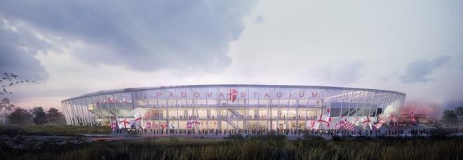 Ecco il nuovo stadio Euganeo:  16.500 posti, 12 salottini per i vip