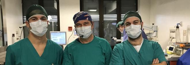 Lo Staff del dott. Massimo Camellin (al centro)