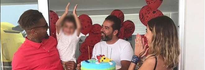 Melissa Satta, che party di compleanno per Maddox: «Tre anni di felicità»