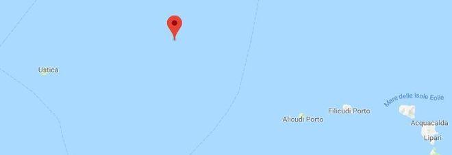 Forte terremoto nel Tirreno meridionale, nell'area dei vulcani sommersi