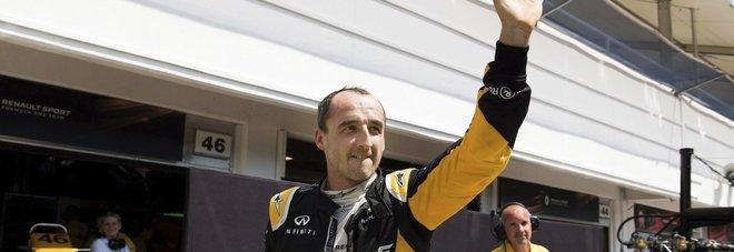 Kubica: «La mia guida al 90% identica a prima dell'incidente»