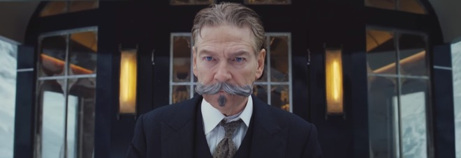 Kenneth Branagh in Assassionio sull'Orient Express