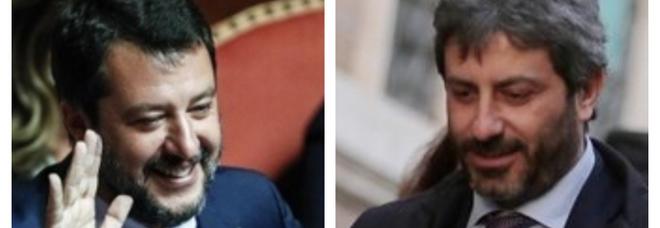 Governo, la risposta di Fico che smonta l'accusa di Salvini su Montecitorio «sprangato»