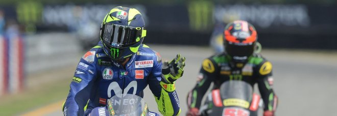 Moto Gp Brno, Valentino: «Non sono contento: volevo il podio»