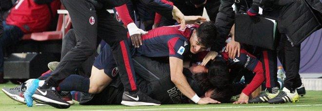 Palacio e Poli gol: il Bologna stende l'Atalanta 2-1