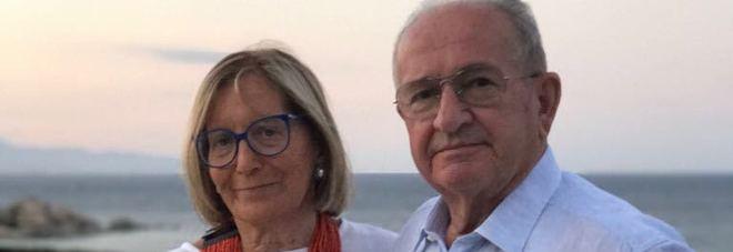 Carlo Rossetto con la moglie Maria