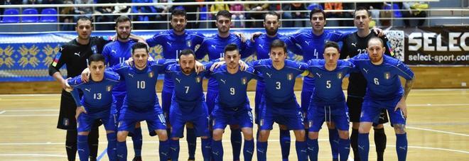 Futsal, verso l'Europeo: venerdì il raduno per i 18 azzurri