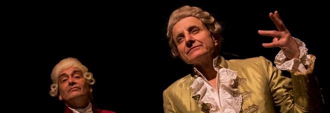 Giuseppe Cederna, quel gran genio (di Mozart) in scena. Bis