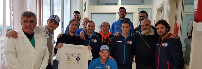 «Giornata del Sorriso», basket  e calcio a 5 insieme per il Santobono