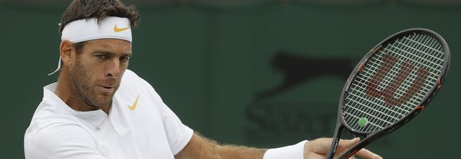 Wimbledon, Del Potro ai quarti: affronterà Nadal