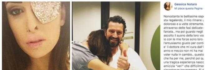 Gessica Notaro, post speciale su Facebook: «Sei il mio angelo». Ecco a chi è dedicato