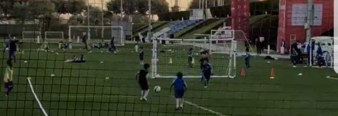 Impianti, lo stupore di Cannavaro jr:  «Che grandi strutture in Qatar»