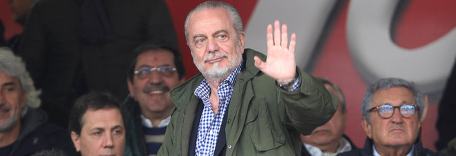 Napoli, il triplete di De Laurentiis: vince il terzo Financial Fair Play