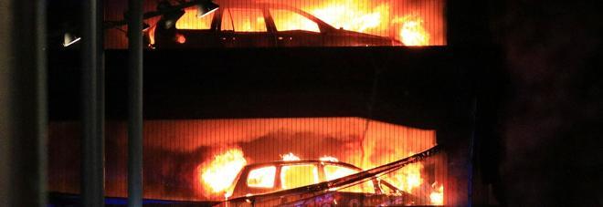 Incendio nel parli g a Liverpool