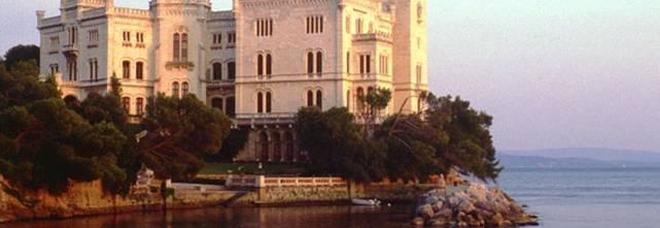 Il Castello Miramare a Trieste