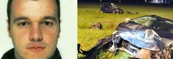 Marco Rizzetto e la scena del terribile incidente