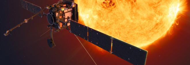 Un'immagine artistica del Solar Orbiter