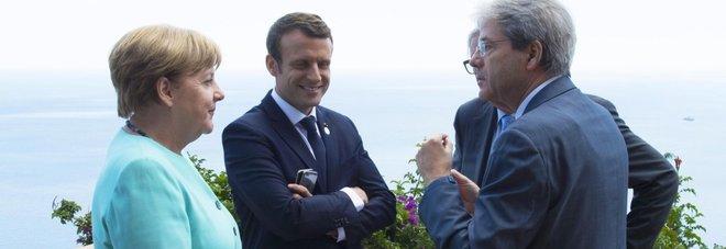 Migranti, Gentiloni incontra Merkel  e Macron per le nuove regole