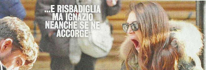 """Cecilia Rodriguez e Ignazio, colazione """"annoiata"""" dopo il terremoto per il Tapiro d'Oro"""