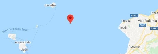 Terremoto, scossa largo delle isole Eolie: avvertito anche a Messina e Reggio Calabria