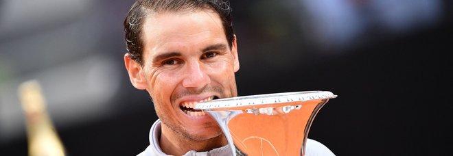 Nadal dopo Roma torna Re: è di nuovo primo in classifica Atp