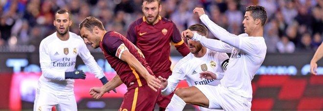 Totti: «Cristiano Ronaldo? Felice di vederlo in Italia»